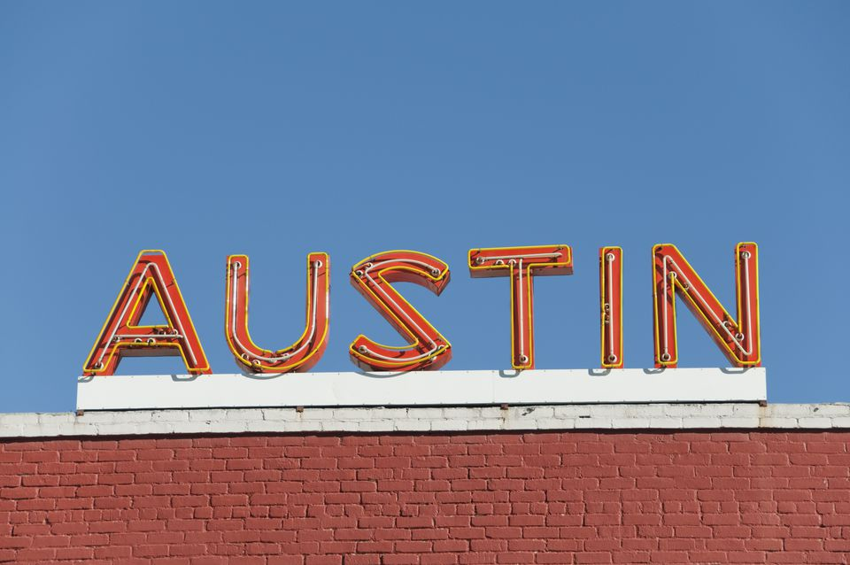 Neon sign in Austin, Texas