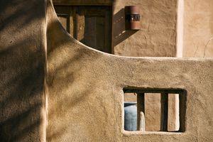 Adobe architectural detail.