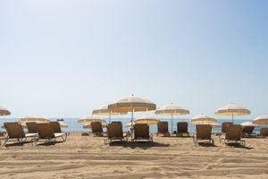 Bogatell Beach in Barcelona