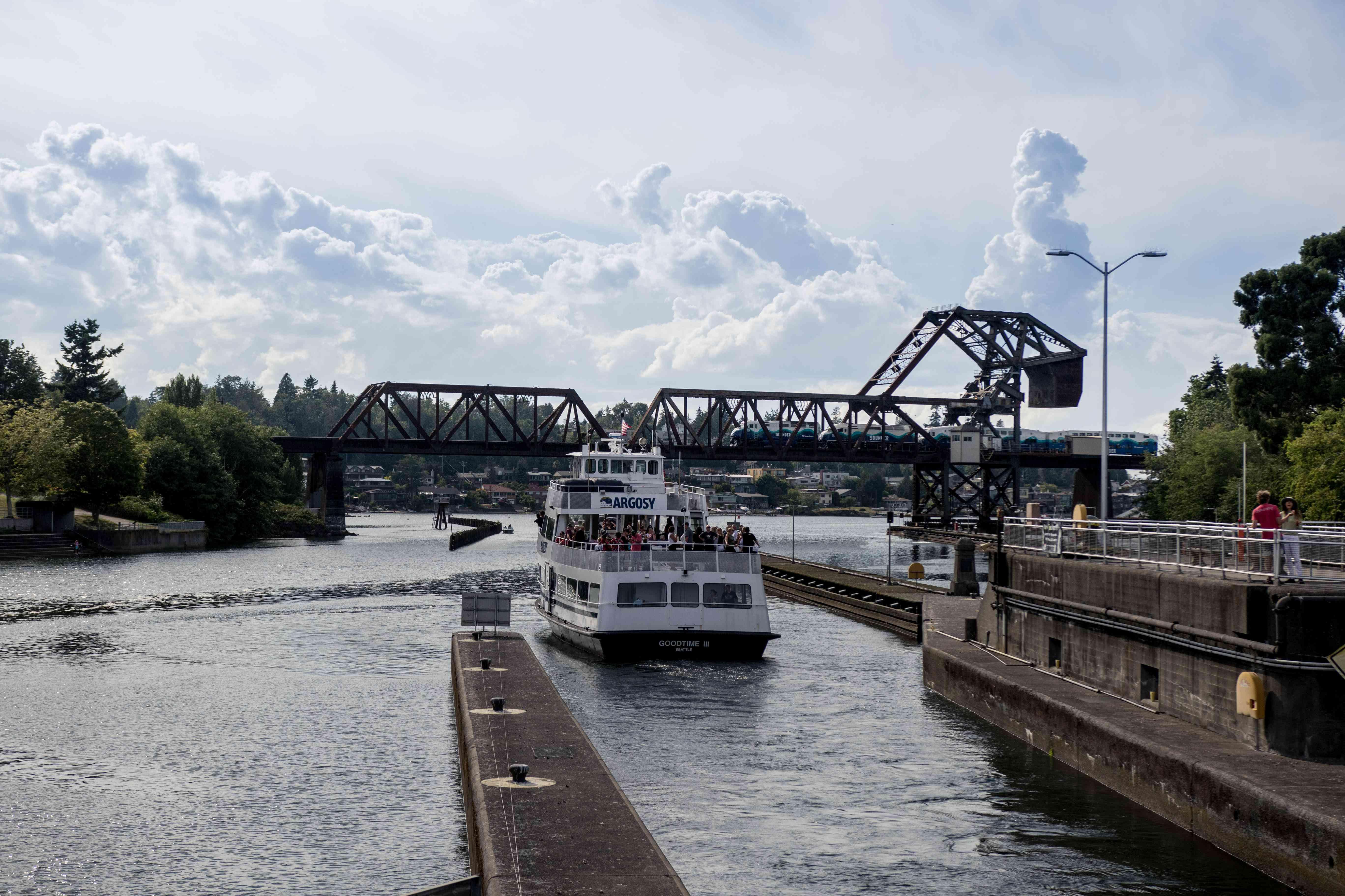 Ballard Locks, Seattle, Washington