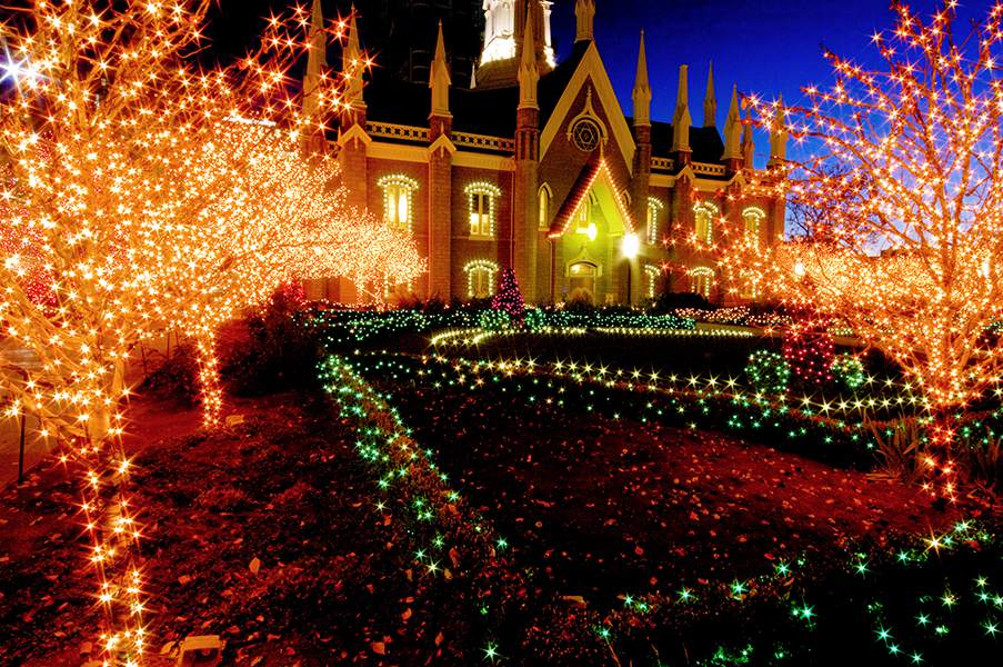 Attend Christmas Events on Temple Square