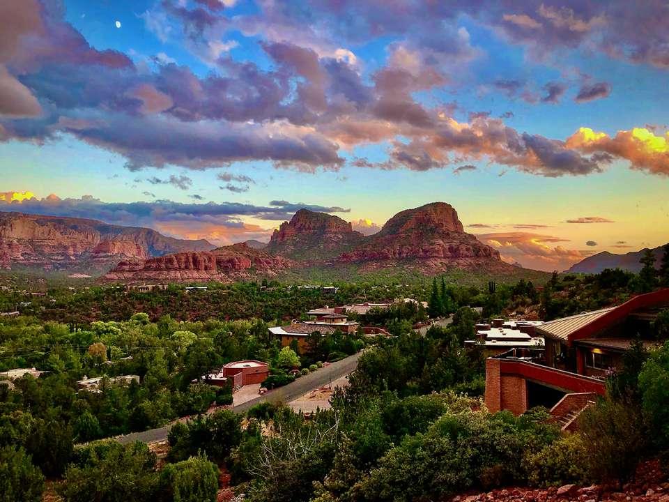Sedona Arizona Magic Hour