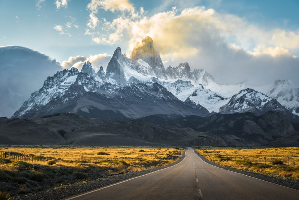 A Road to El Chalten