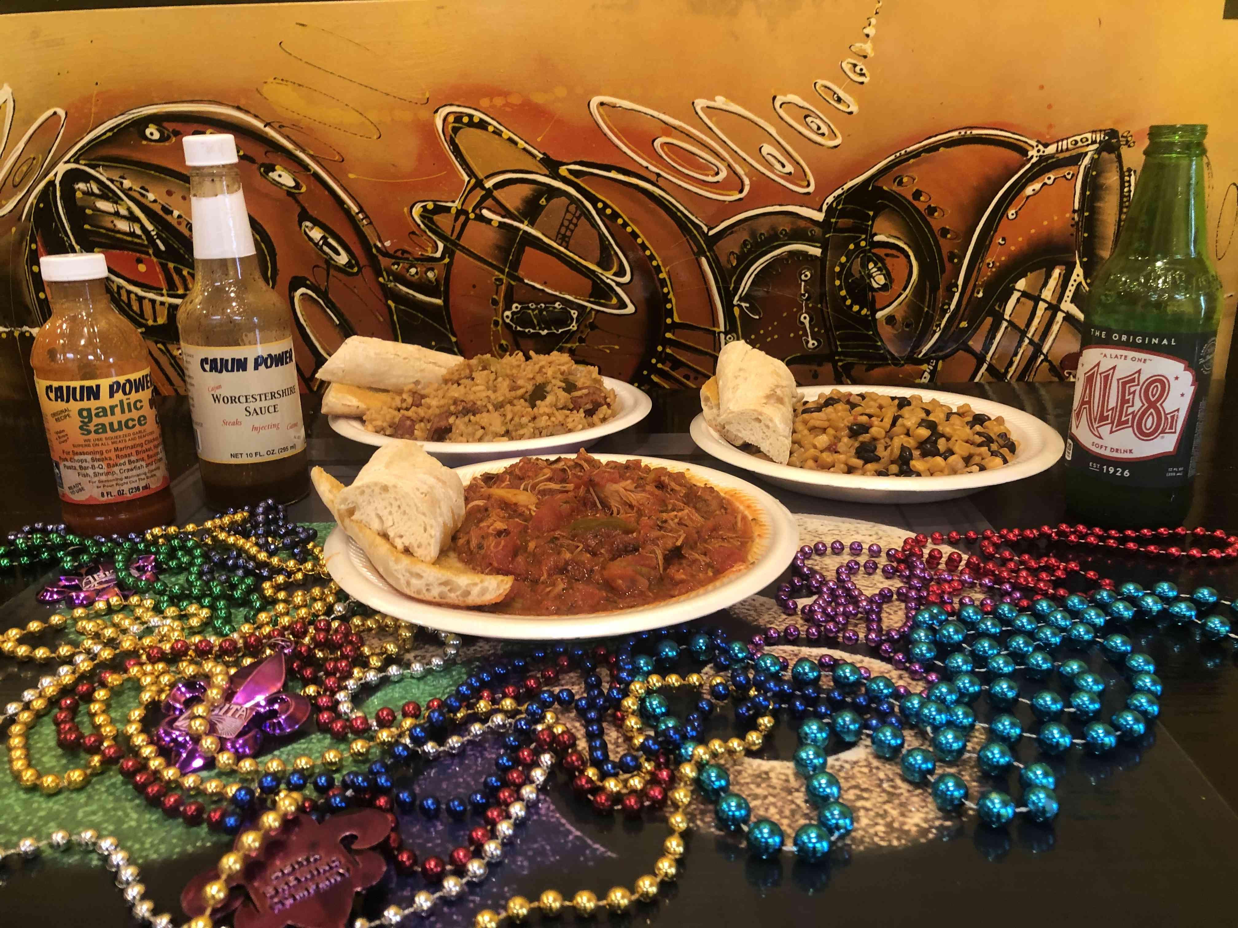 Cajun food at Bourbon n Toulouse in Lexington, Kentucky