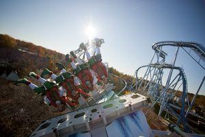 Busch Gardens' Alpengeist Roller Coaster