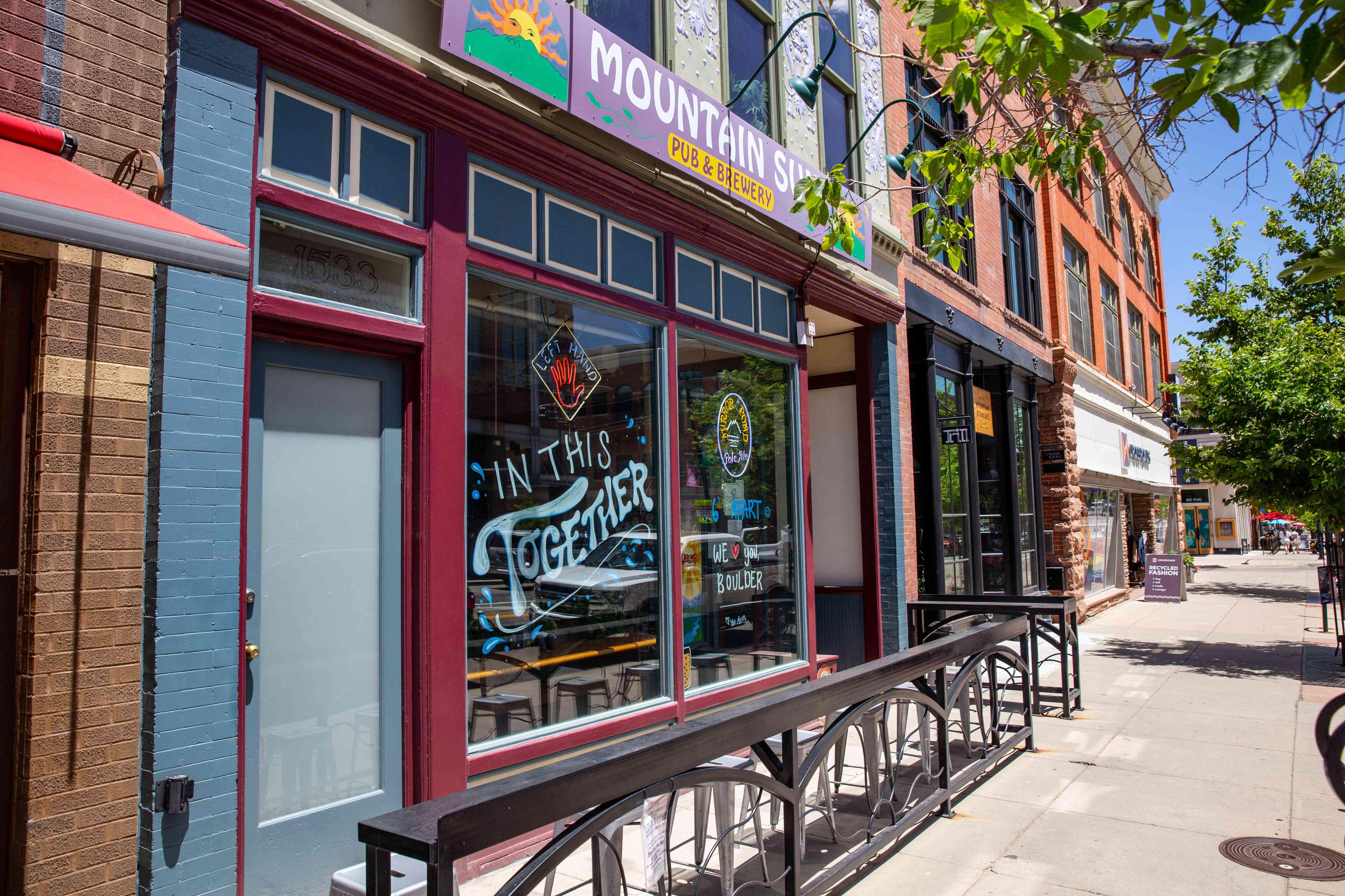 Mountain Sun Pub and Brewery in Colorado