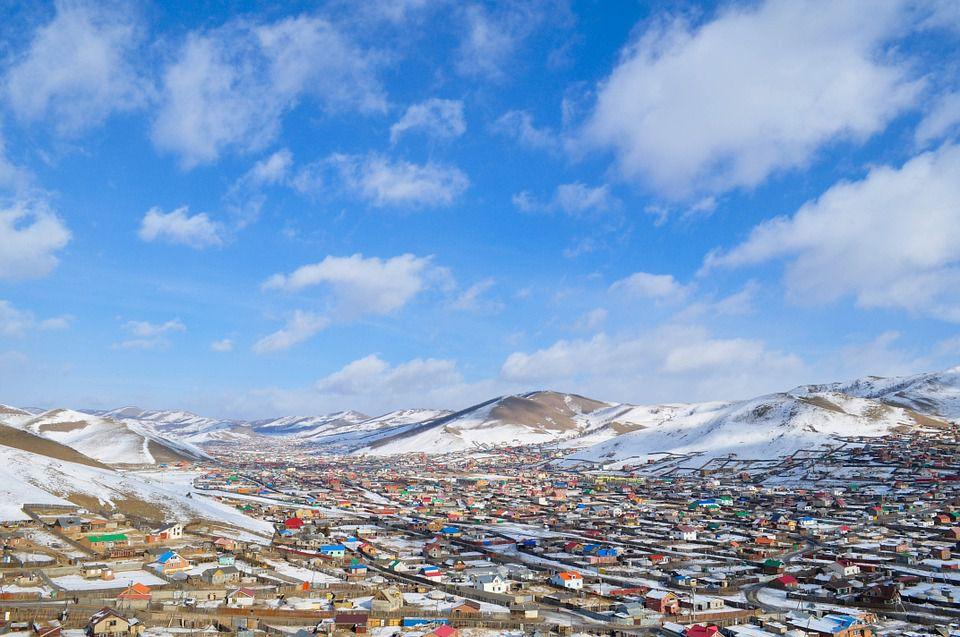 Ein Vorort von Ulaanbaatar, Mongolia