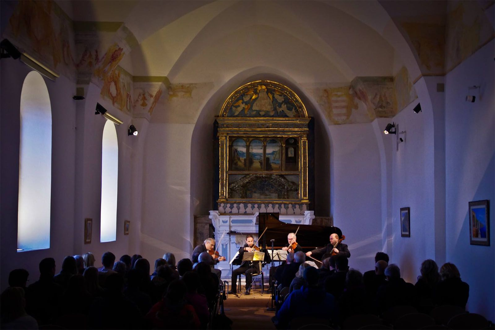 ravello concert historic building