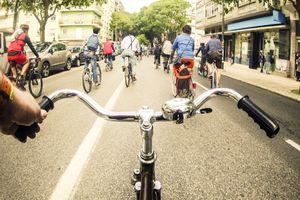 Cycling in Lisbon
