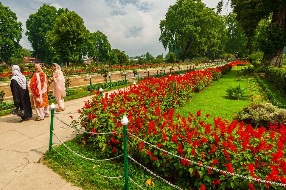 Shalimar Bagh (a Mughal Garden), near Srinagar, Kashmir