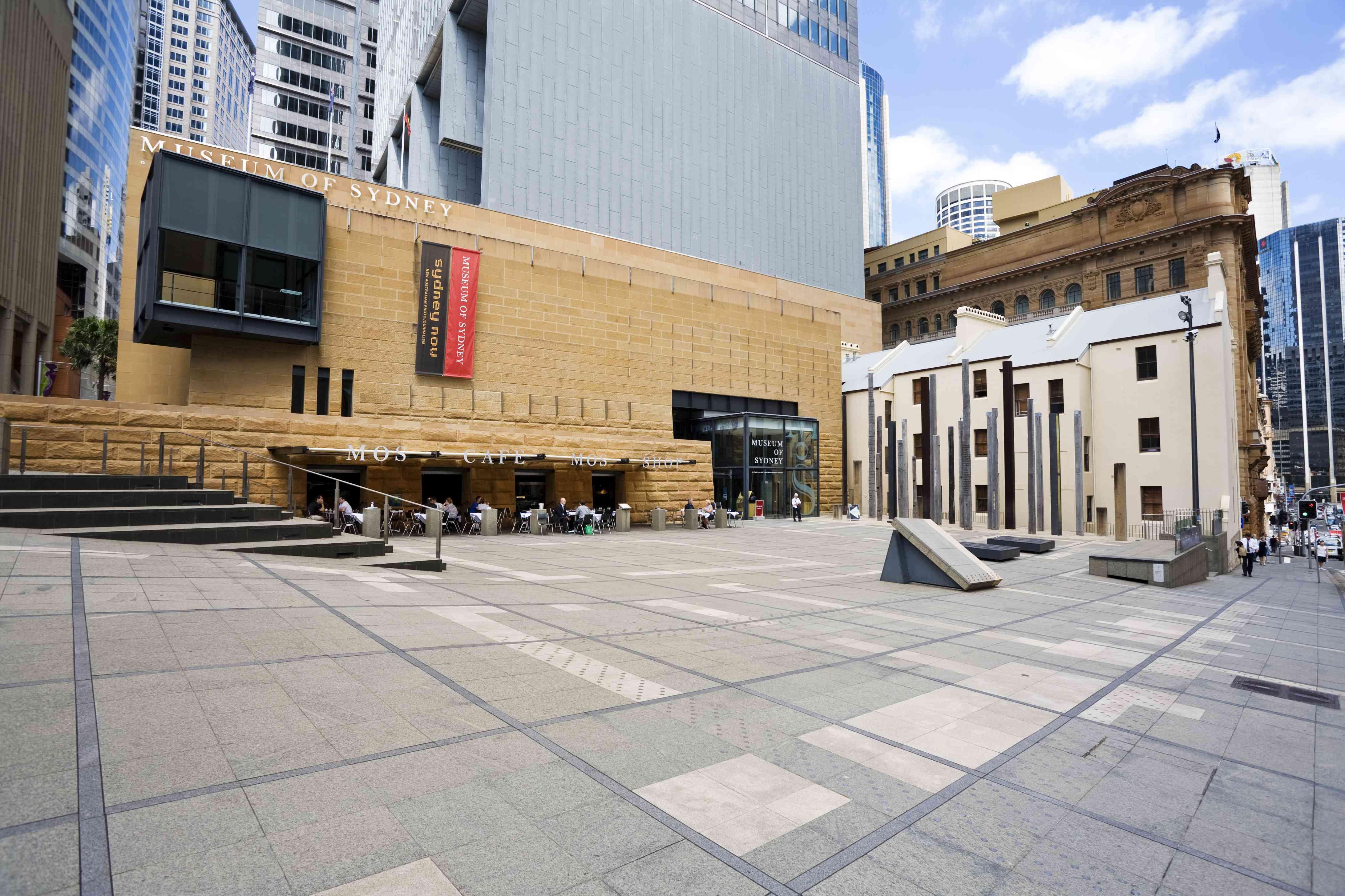 Museum of Sydney, exterior