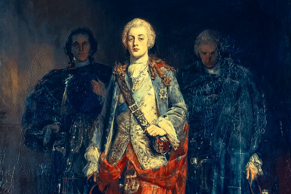 """Mo Ghile Mear - detail from """"Bonnie Prince Charlie"""" by John Pettie (1839-1893)"""