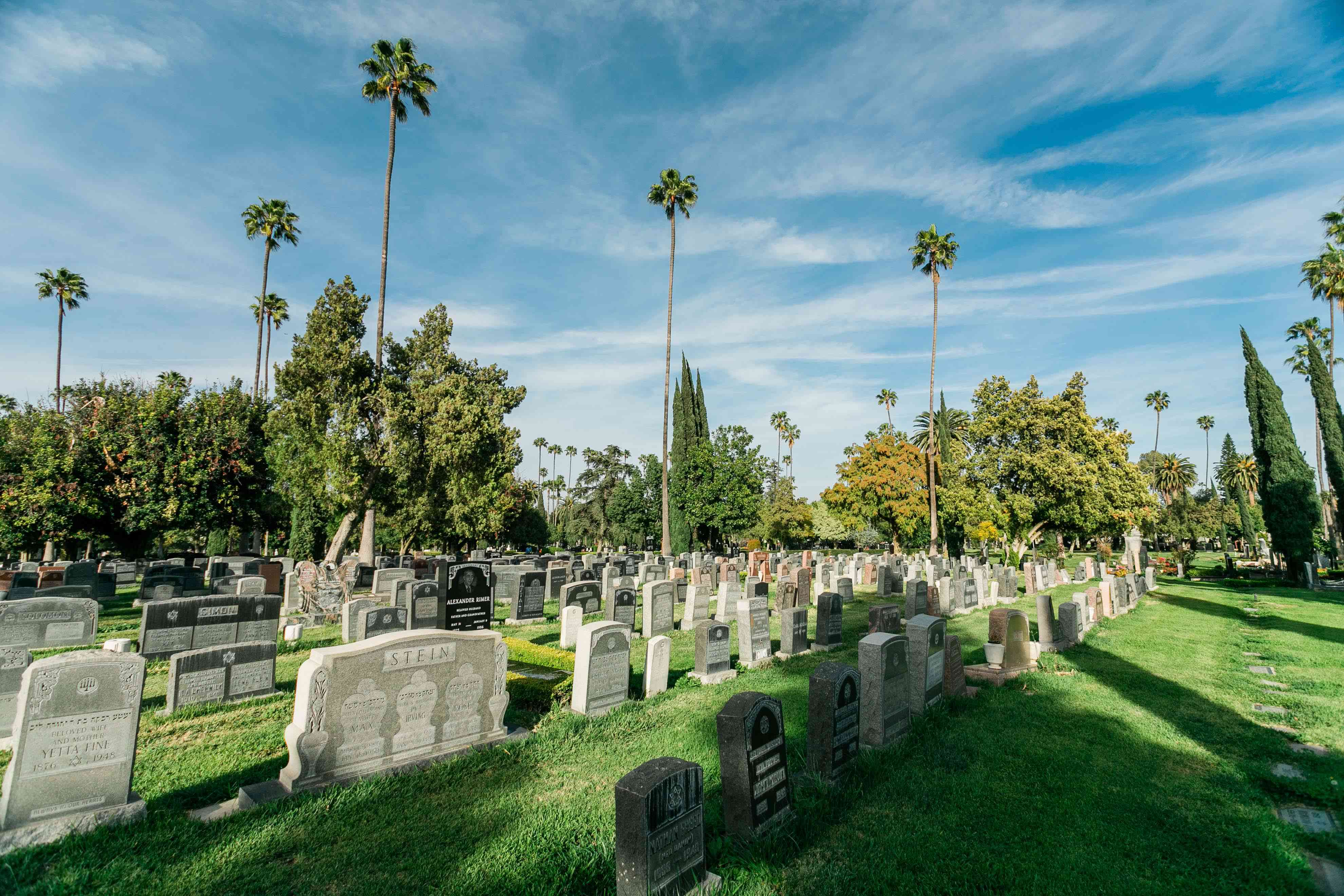 Hollywood Forever Cemetery in Los Angeles, CA