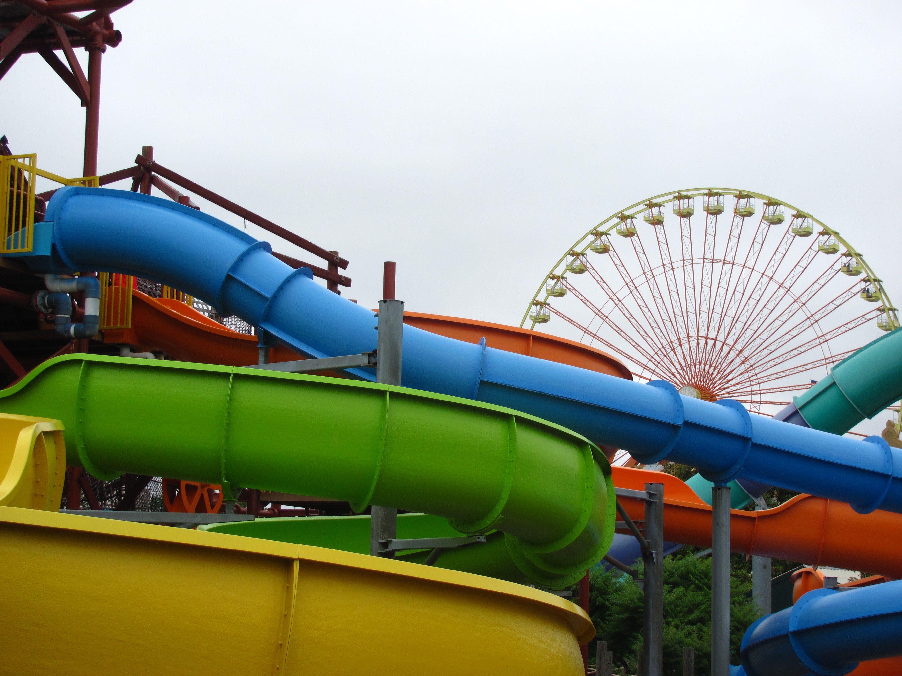 Colorful rides at Kentucky Kingdom