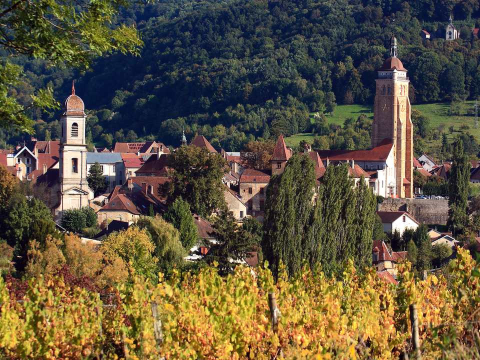 Arbois in the Jura