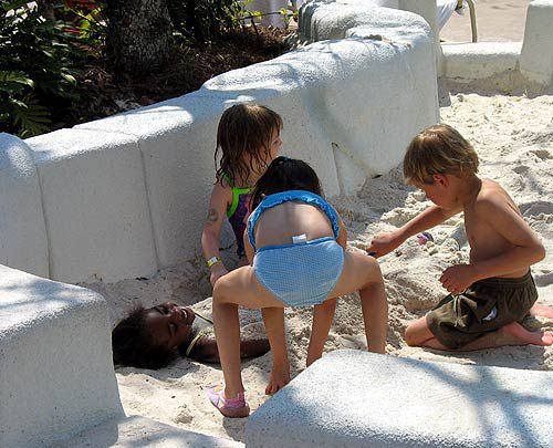Not all the fun is water-related at Blizzard Beach.