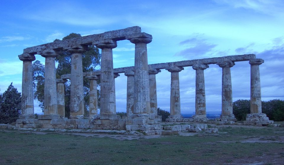 Metaponto greek ruins