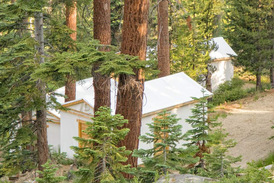 Cabins at Sequoia High Sierra Camp