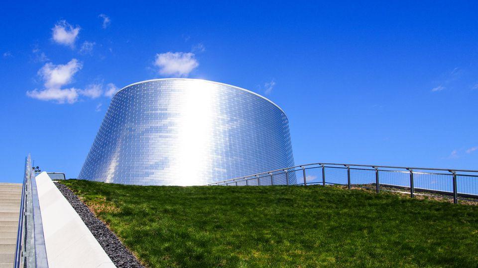 Edificio del planetario, Montreal, Canadá