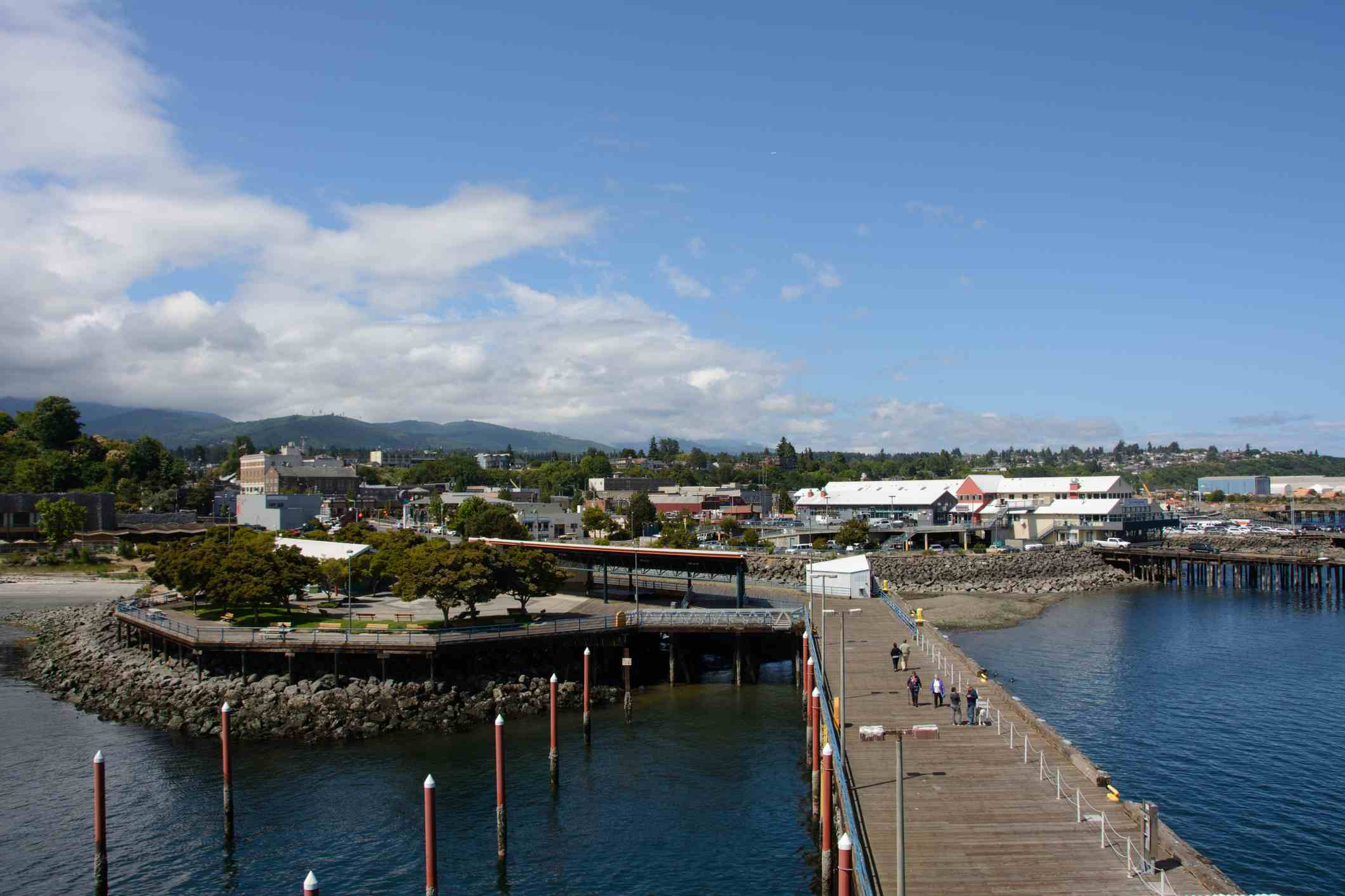 Muelle de la ciudad de Port Angeles
