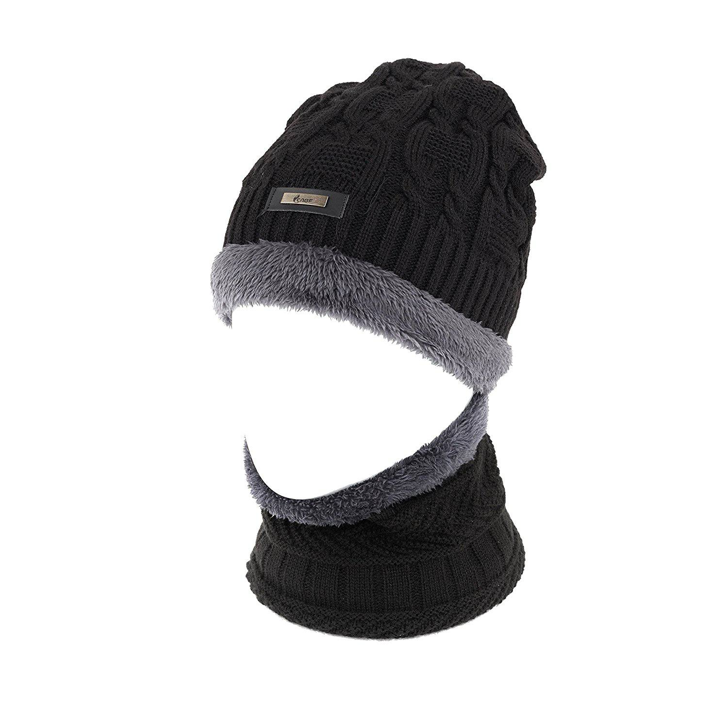 4e9ebbf68dc Best Overall  Cable Knit Beanie by Tough Headwear. Cabf Winter Hats