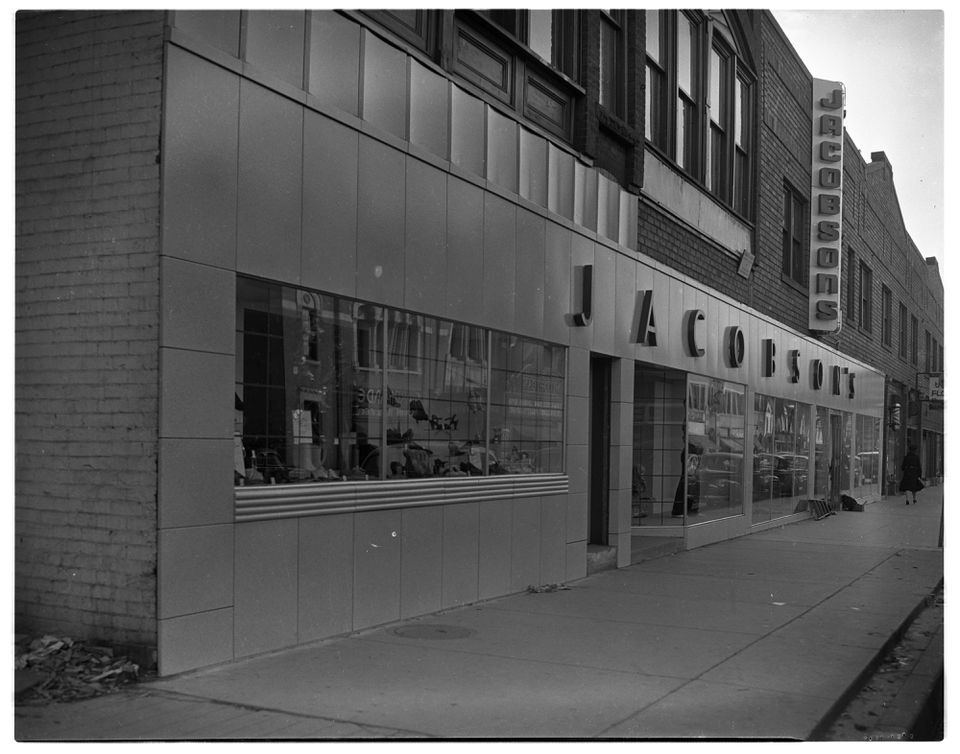 Jacobson's department store November 1941