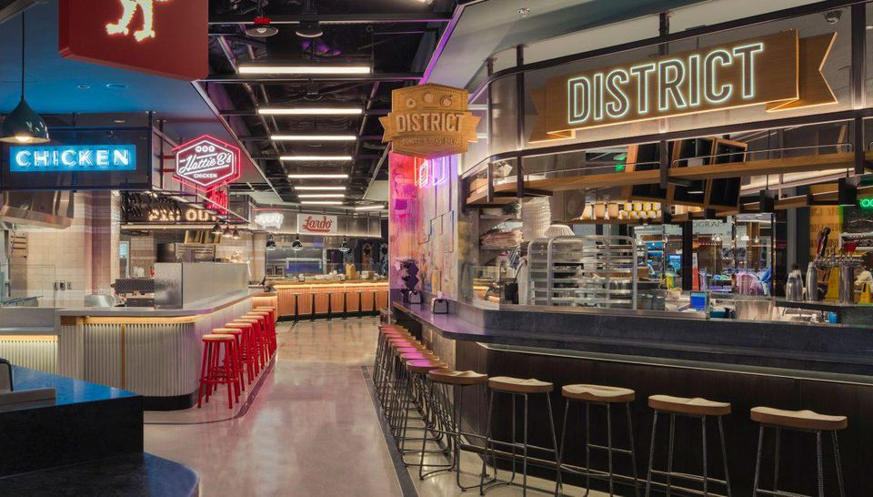The Best Food Courts On Las Vegas Strip