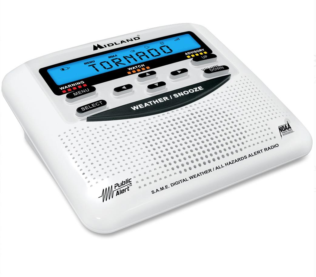 Midland WR120B Weather Alert Radio