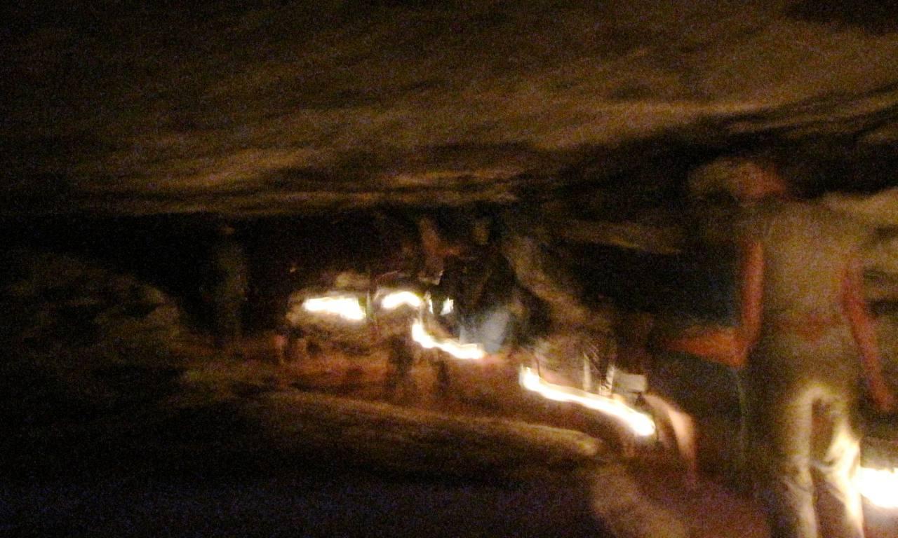 Violet City Cave Tour, Mammoth Cave National Park, Kentucky