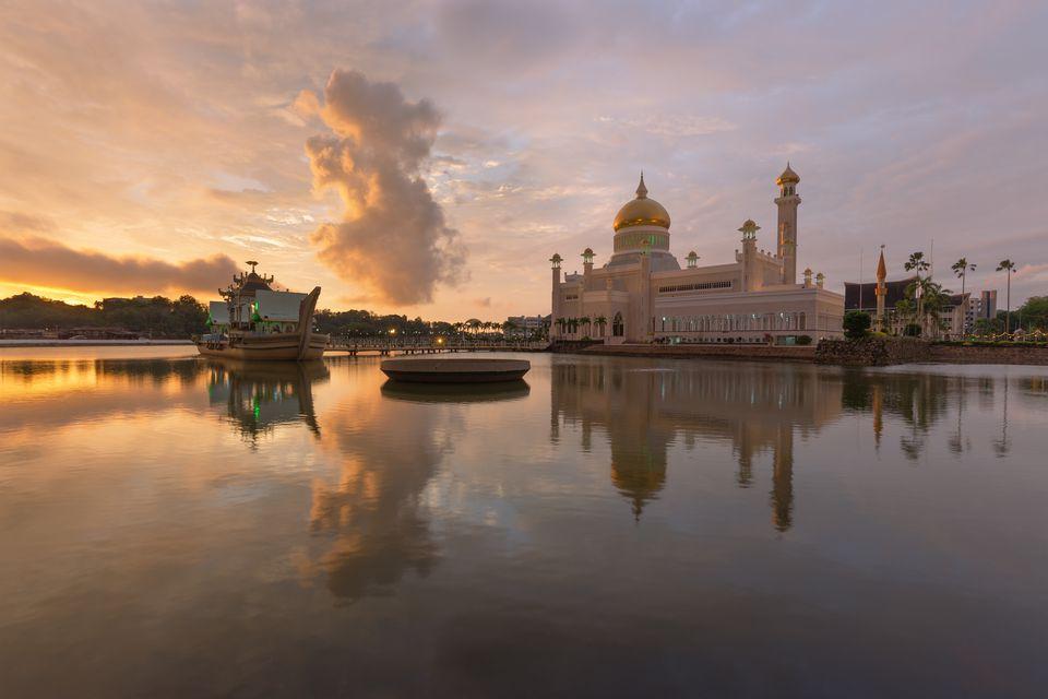 Sultan Omar Ali Saifuddien in Brunei Darussalam