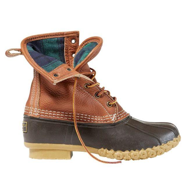 L.L. Bean Tumbled Leather Duck Boot