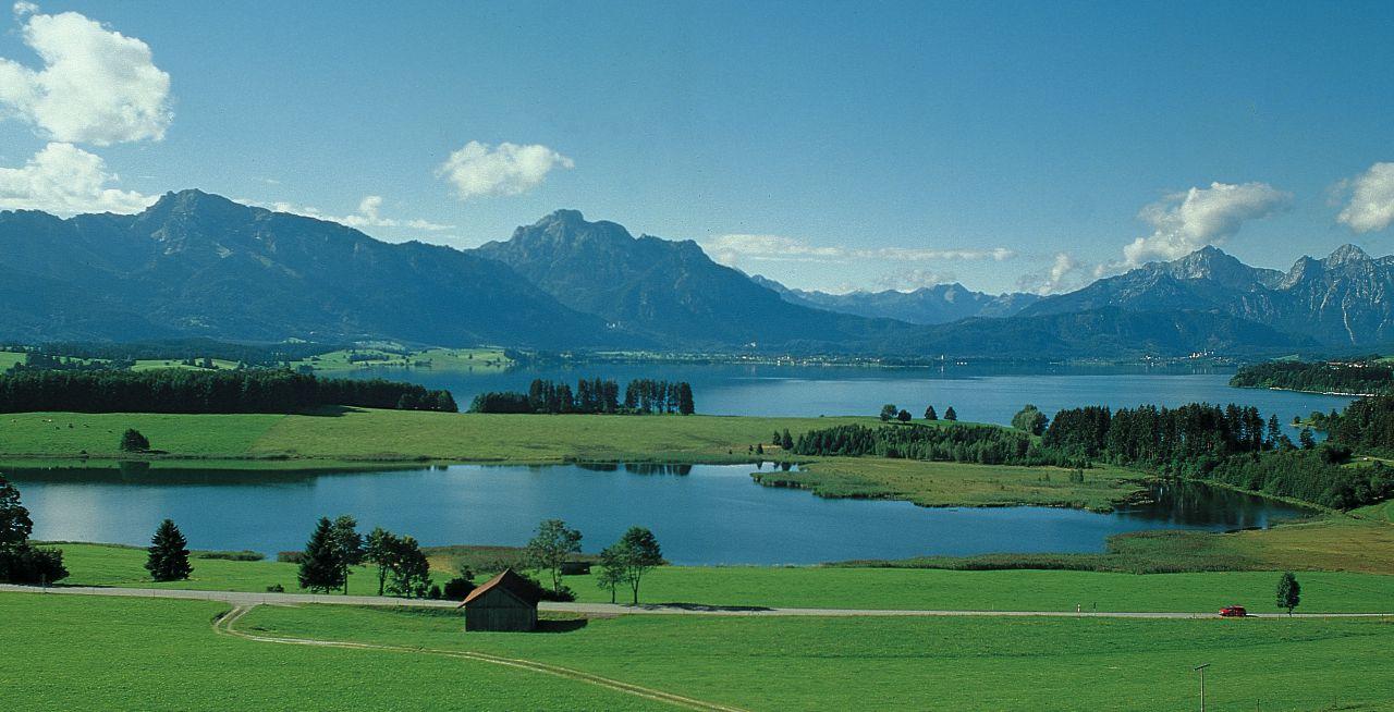 Bavarian Countryside - Romantic Road Germany