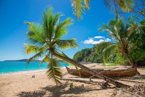 Tropical beach on Nosy Iranja, Madagascar