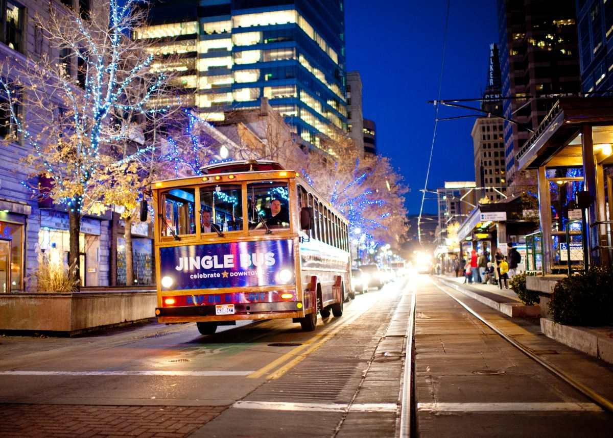 The Jingle Bus in Salt Lake City
