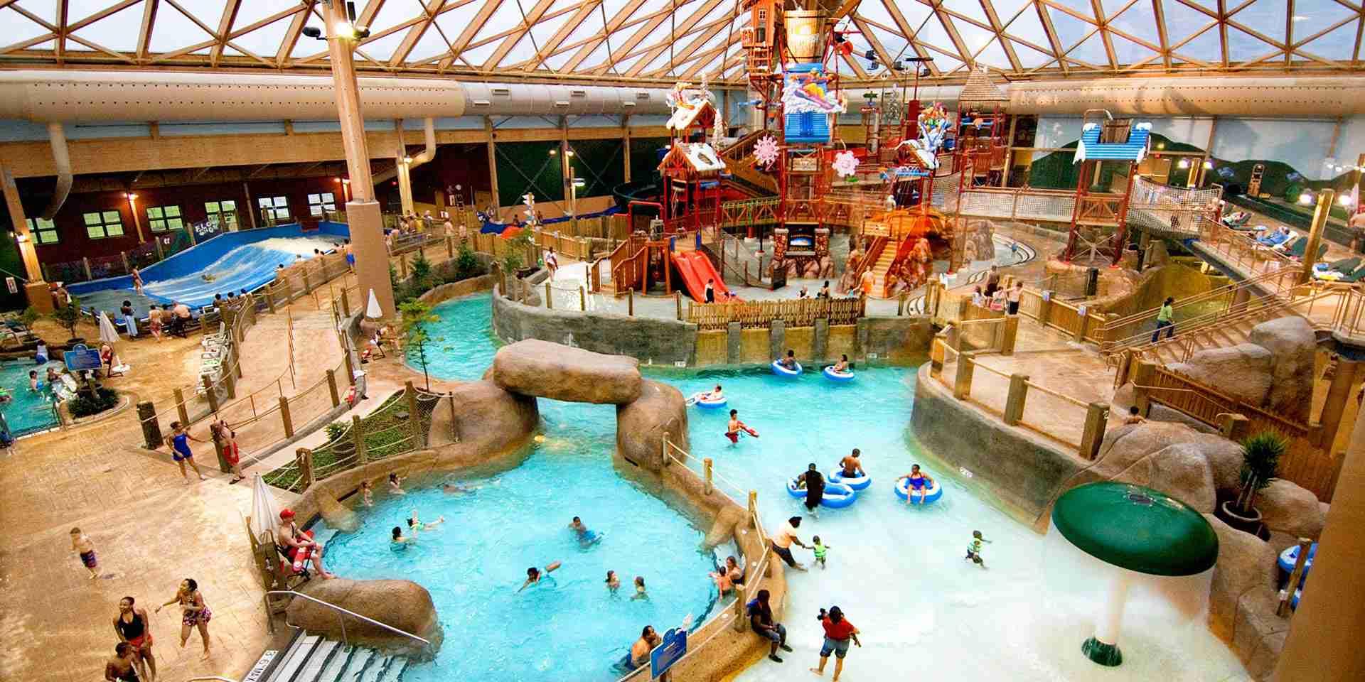 Massanutten Resort water park Virigina