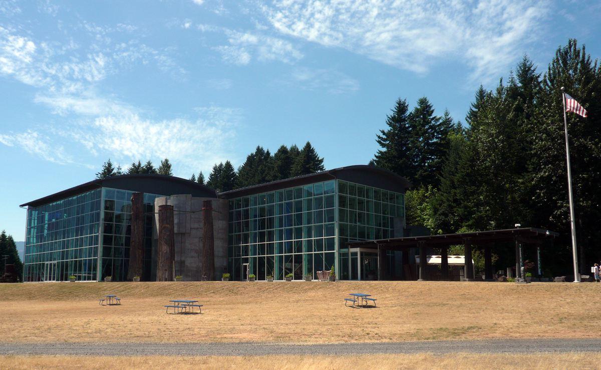 El Museo del Centro de Interpretación Columbia Gorge en Stevenson, WA (Angela M. Brown)