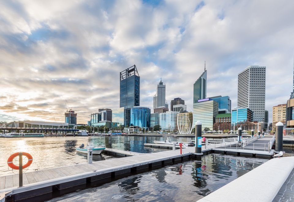Elizabeth Quay, Perth, Australia Occidental / Australia