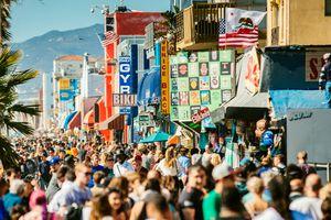 Venice Beach Broadwalk Los Angeles