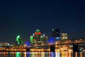Bridge into Louisville