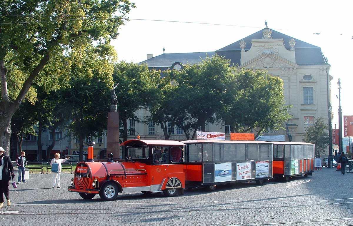 Tram Tour of Old Town Bratislava