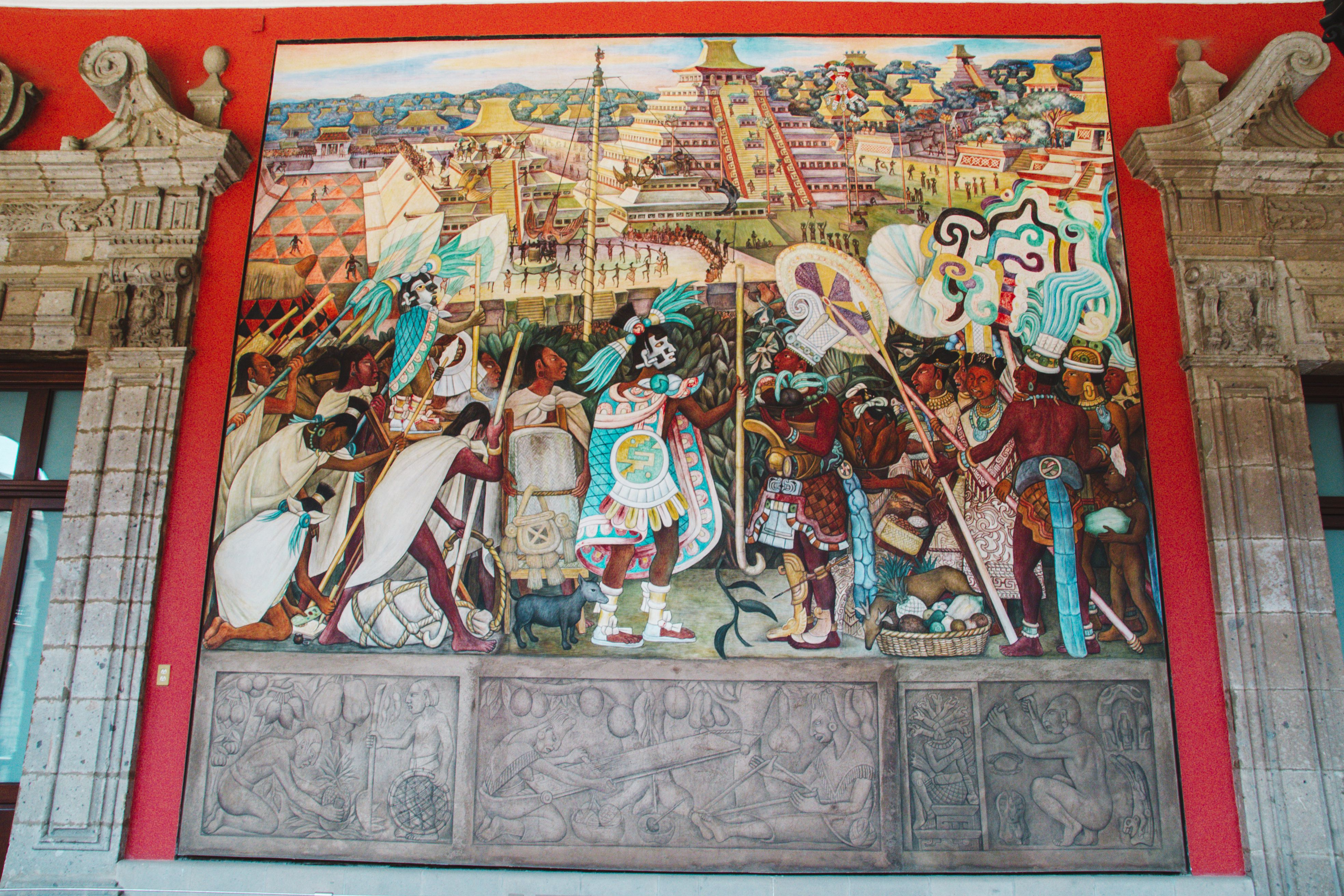 Mural in Mexico City