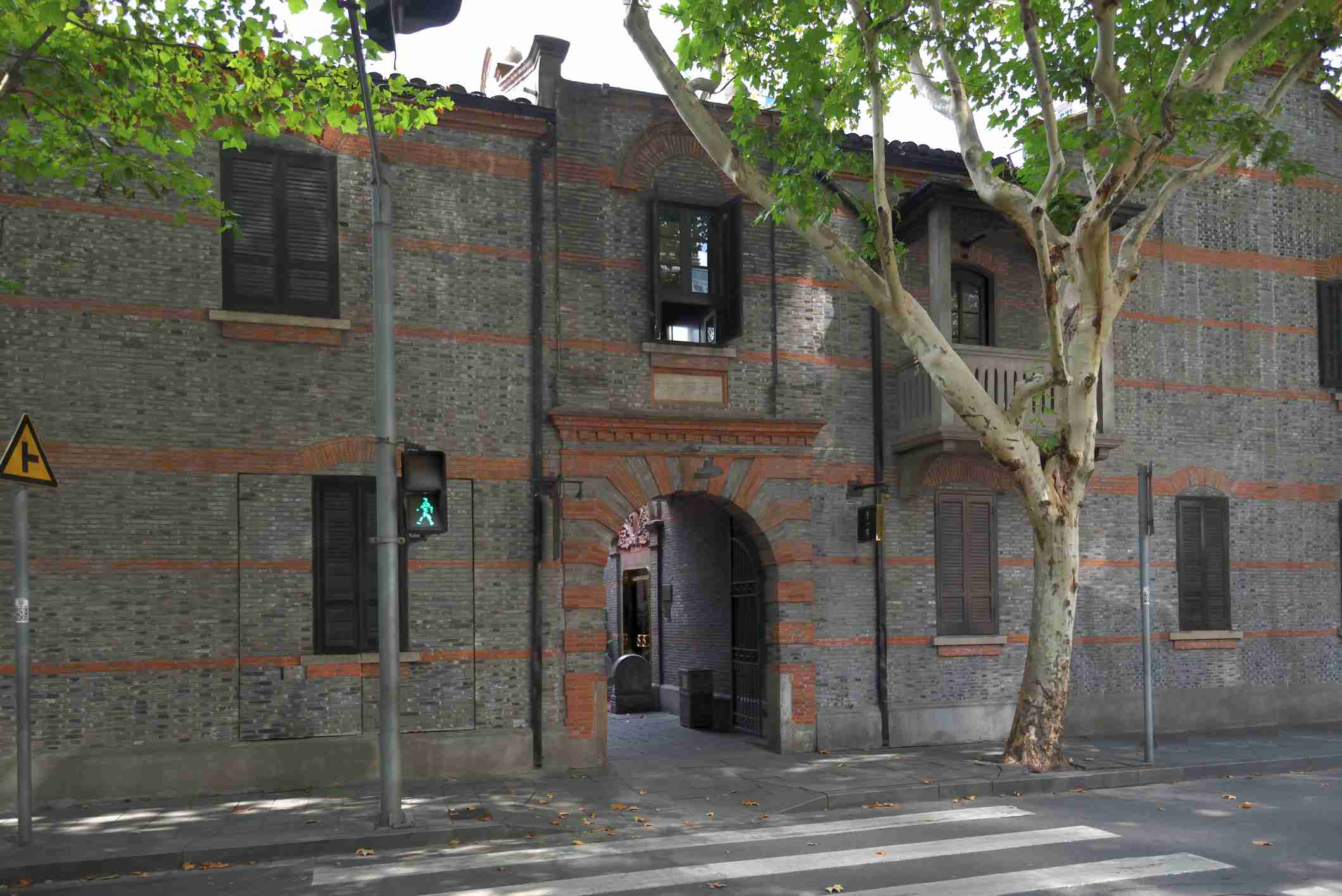 Shanghai old french concession Entrance
