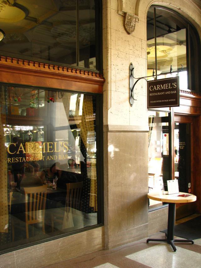 carmel's restaurant and bar
