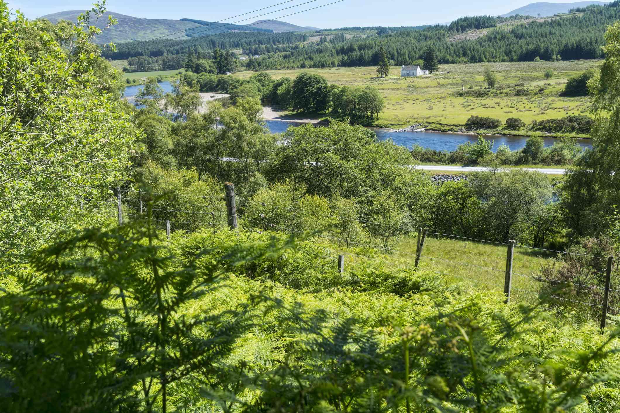 Gairlochy near Fort William on the Great Glen Way