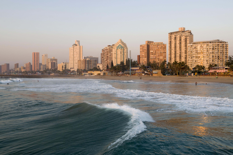 Skyline, coast, Durban, KwaZulu-Natal, South Africa