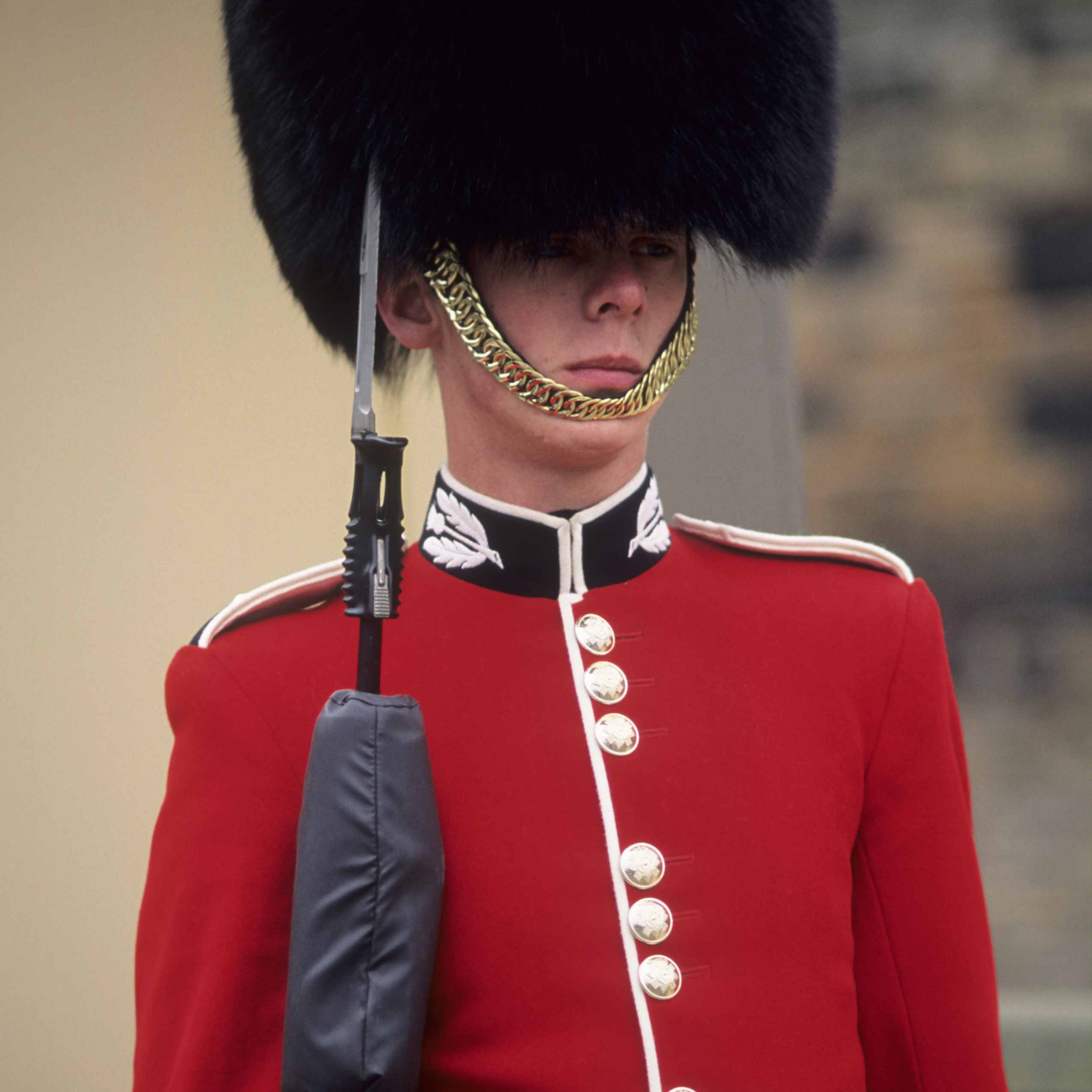 How To Identify The Foot Guards at Buckingham Palace