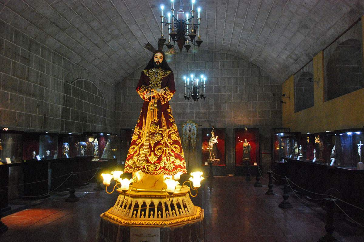 San Agustin Museum interior