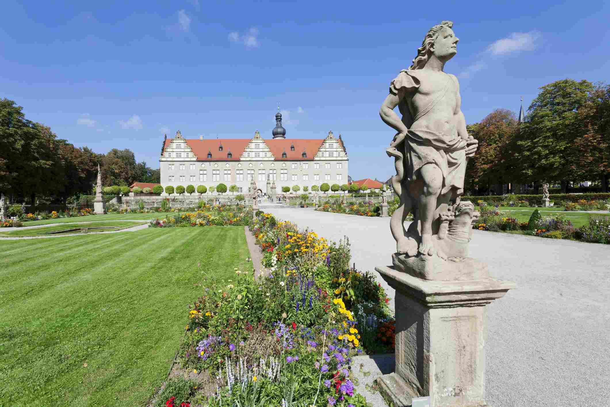 Weikersheim Castle, Weikersheim, Baden-Württemberg
