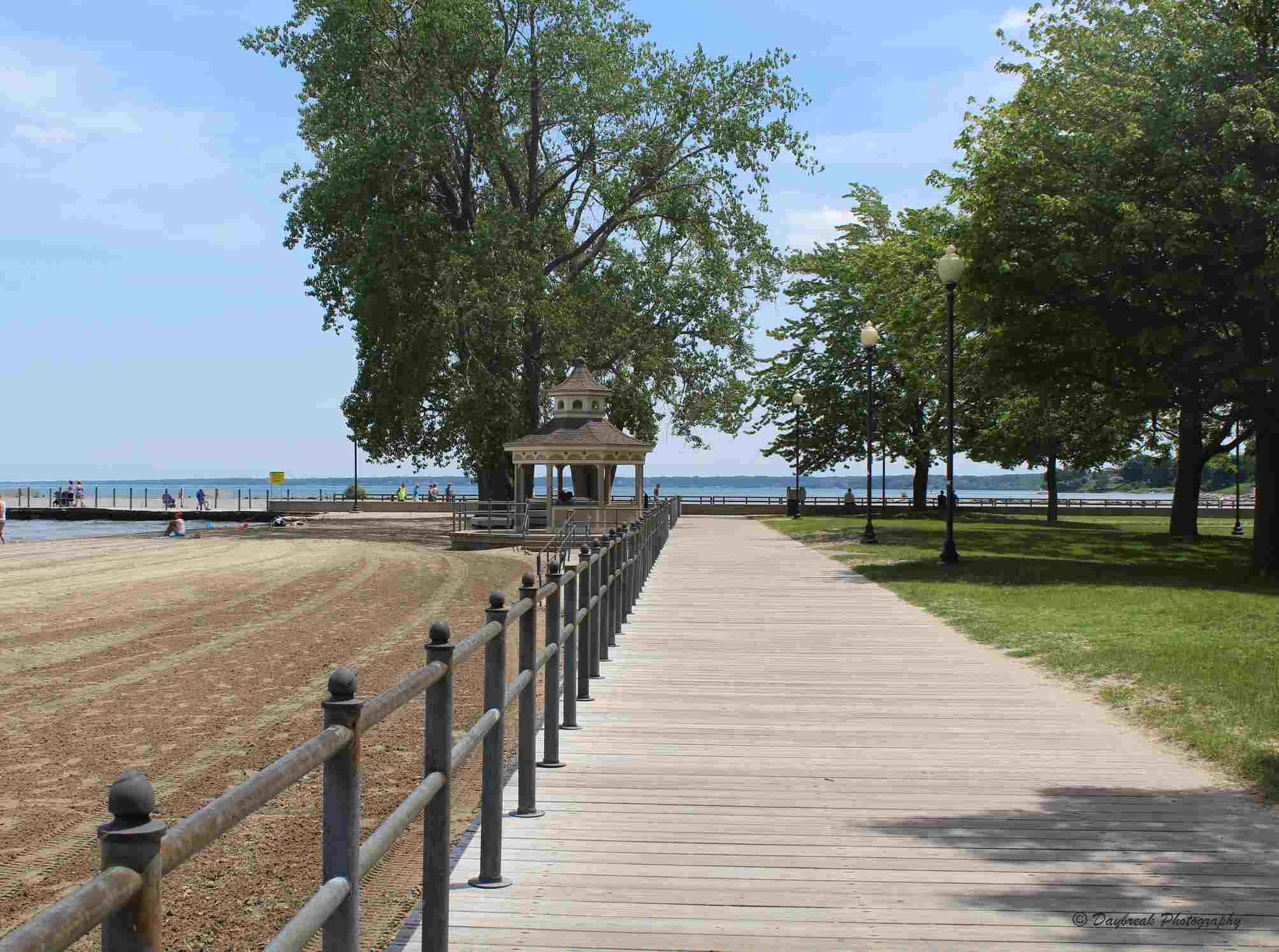 Ontario Beach Park in Rochester, NY