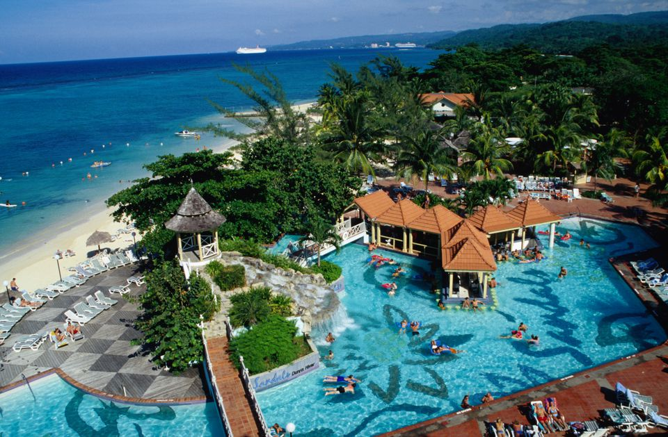 Sandals Dunn's River in Ocho Rios.
